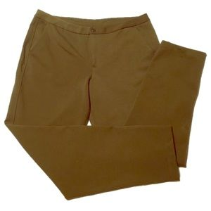 Lululemon green trousers pants EUC